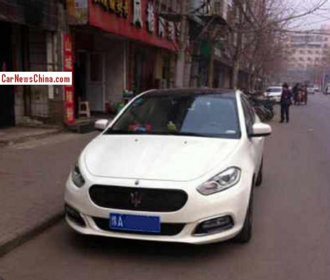Fiat Viaggio is a Maserati in China