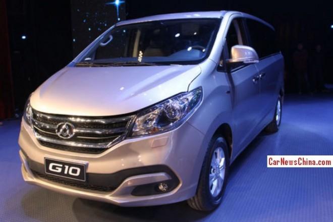 Maxus G10 MPV hits the China car market