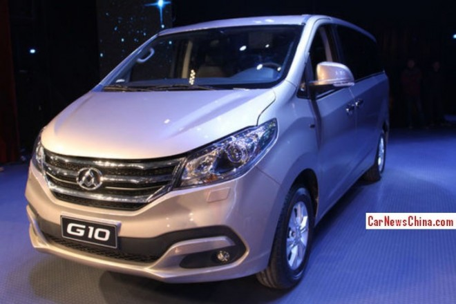 Maxus G10 MPV hits the China car market