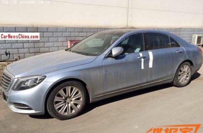 Spy Shots: Mercedes-Benz S 320 L testing in China