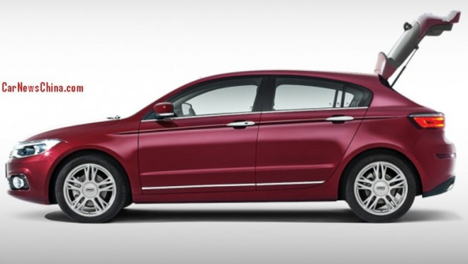 Qoros 3 Hatch will be launched on the China car market in H2