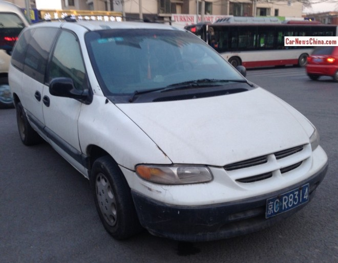 Spotted in China: the Sanxing G-Star Chrysler Voyager