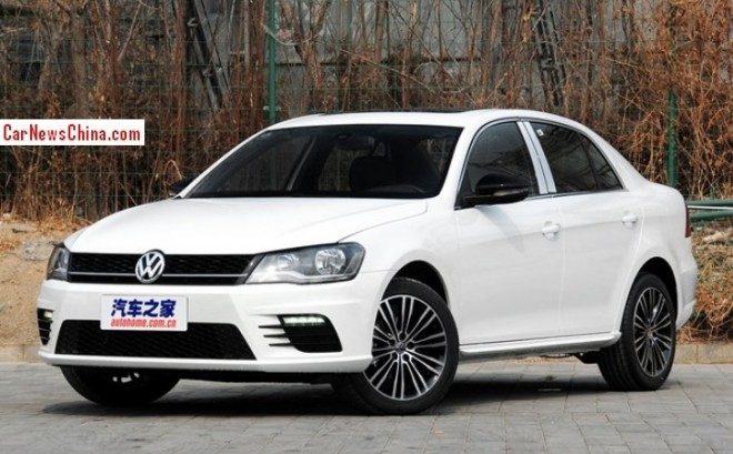 Volkswagen Bora Sportline hits the China car market