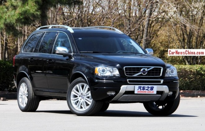 Production of the Current Volvo XC90 will continue in China