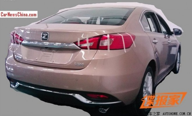 Zotye Z500 will debut on the 2014 Beijing Auto Show