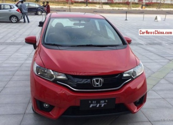 2015 Honda Fit is almost Ready for the China car market