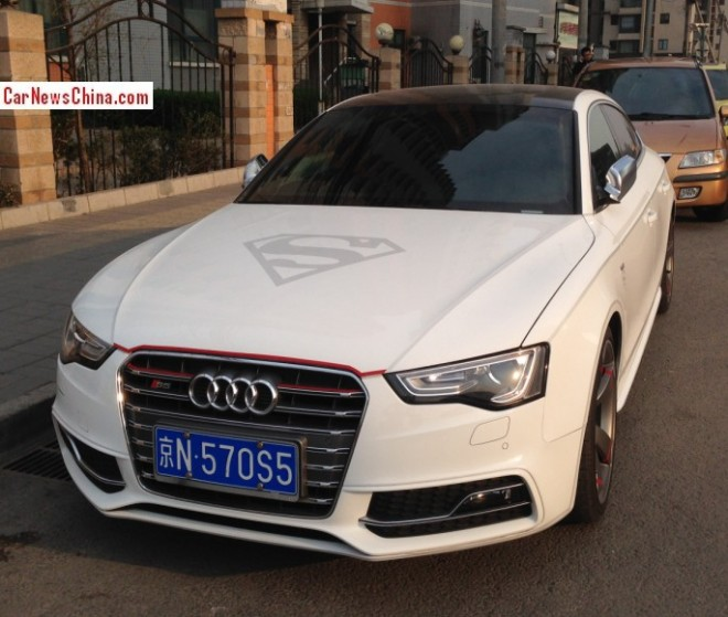 Audi S5 Sportback is Superman with a License in China