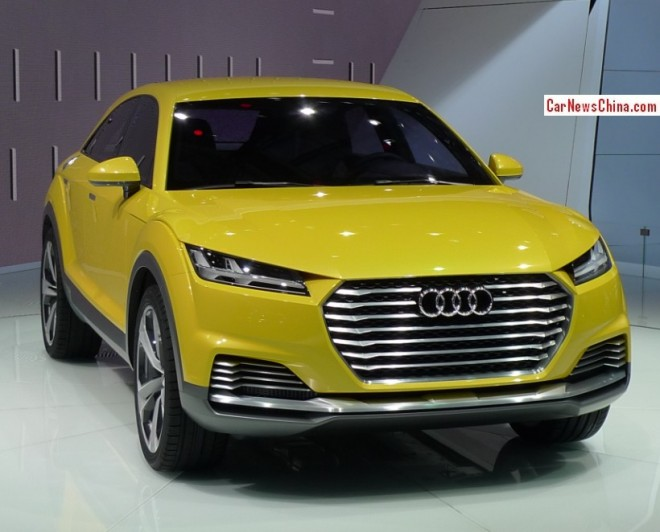 Audi TT Offroad Concept debuts on the Beijing Auto Show