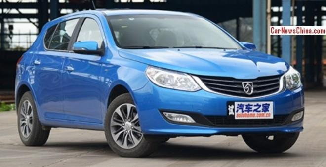 Wuling Baojun 610 hatchback looks pretty in Blue