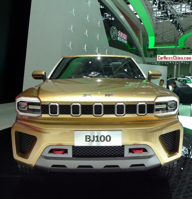 Beijing Auto BJ100 Concept debuts on the Beijing Auto Show