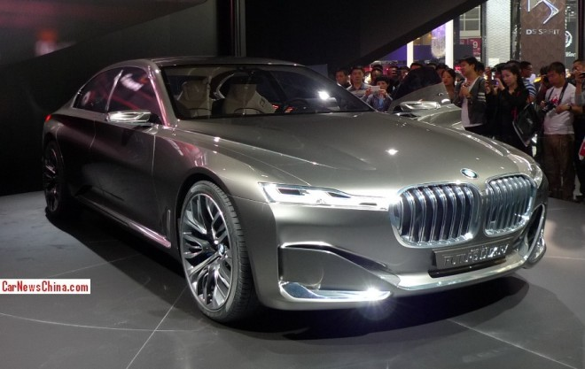 BMW Vision Future Luxury Concept debuts on the Beijing Auto Show