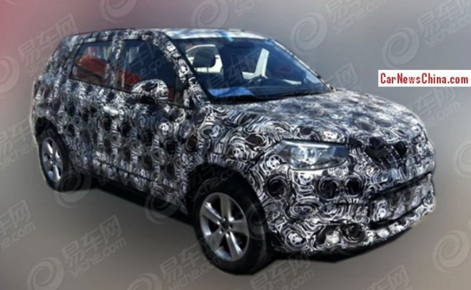 Brilliance compact SUV will debut on the 2014 Beijing Auto Show