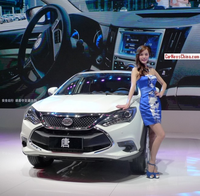 BYD Tang hybrid SUV debuts on the Beijing Auto Show