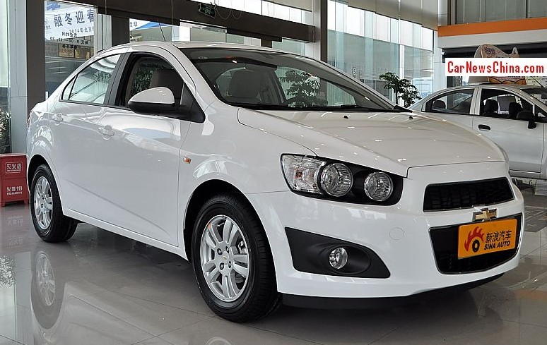 Spy Shots Facelifted Chevrolet Aveo For The Chinese Car Market