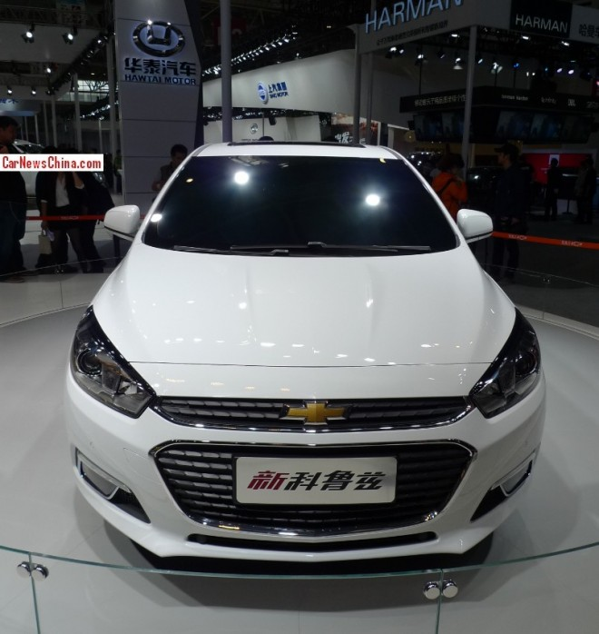 Chinese Chevrolet Cruze debuts at the Beijing Auto Show