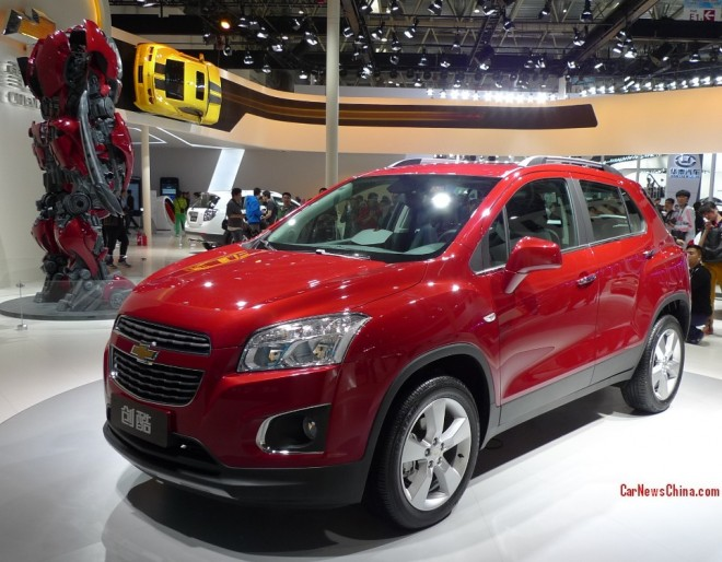 Chevrolet Trax debuts on the Beijing Auto Show