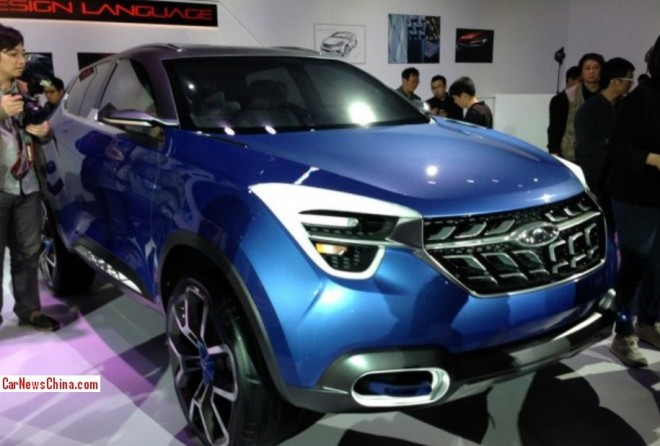 Chery Concept Beta launched in Beijing