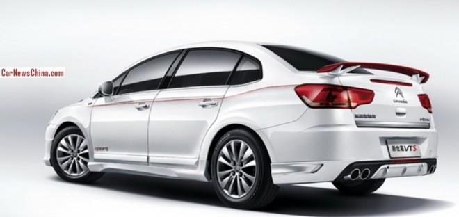 Citroen c-Quatre VTS hits the China car market