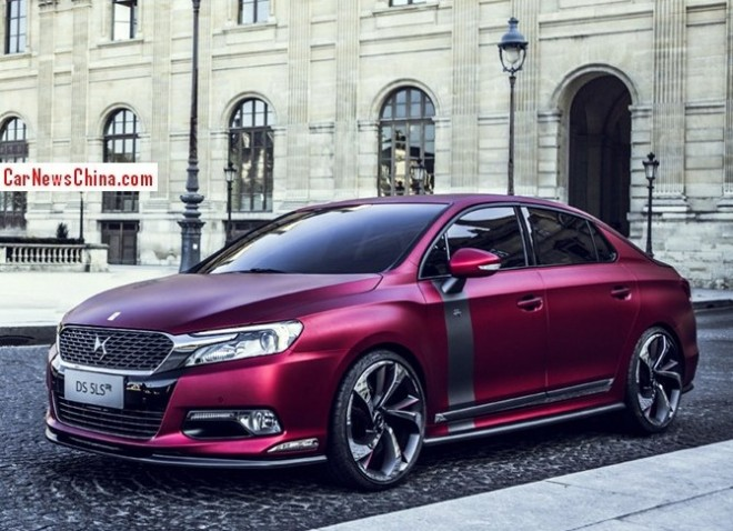 Citroen goes sporty with the DS 5LS R for the 2014 Beijing Auto Show