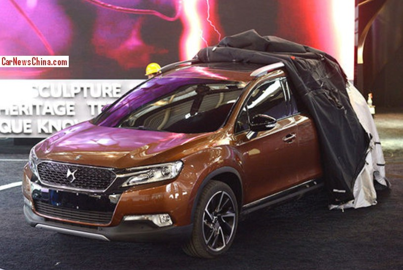 First Live Shots Of The Citroen Ds 6wr Suv For The Beijing Auto Show