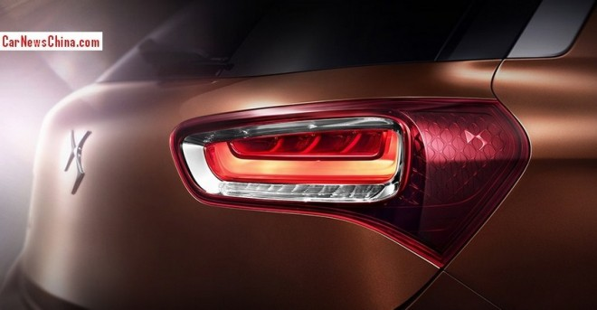 Citroen DS X7 SUV will debut on the 2014 Beijing Auto Show