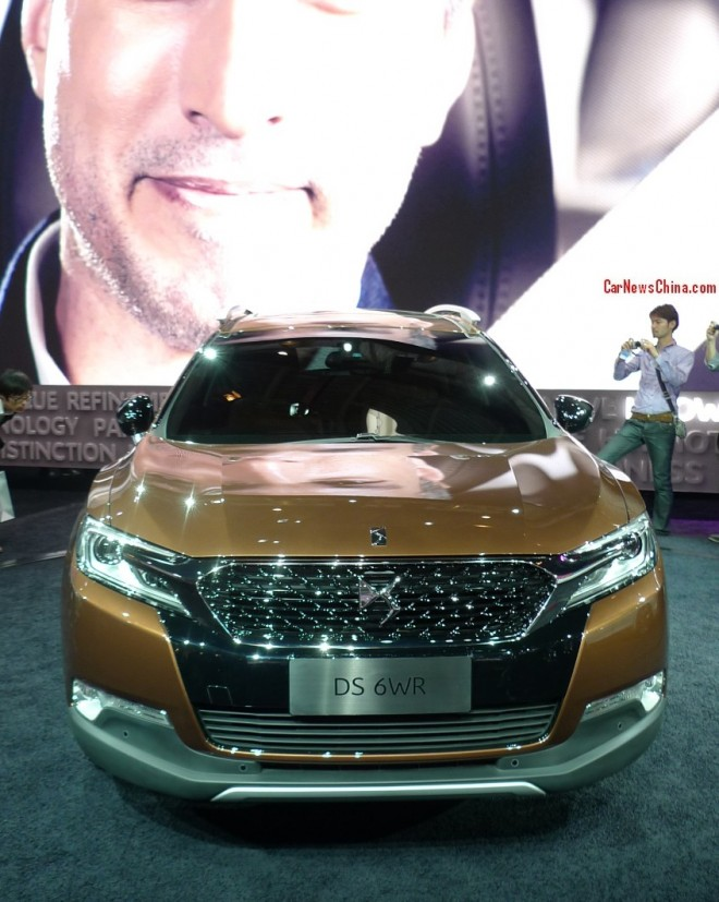 Citroen DS 6WR SUV debuts on the Beijing Auto Show