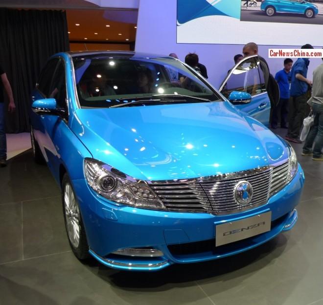 BYD-Daimler Denza EV debuts on the Beijing Auto Show