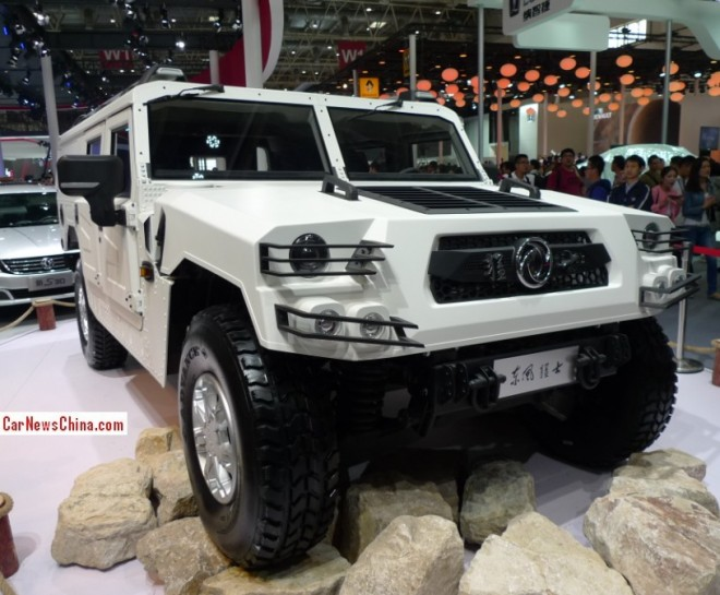 Dongfeng EQ2040H Brave Soldier Concept debuts on the Beijing Auto Show