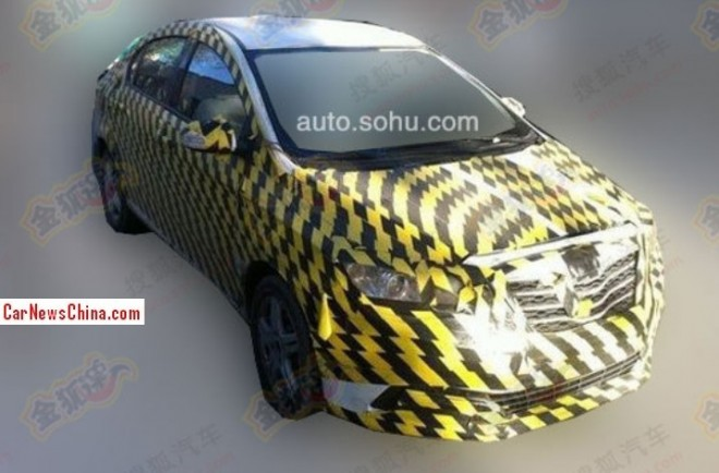 Spy Shots: Dongfeng Fengshen D23 testing in China