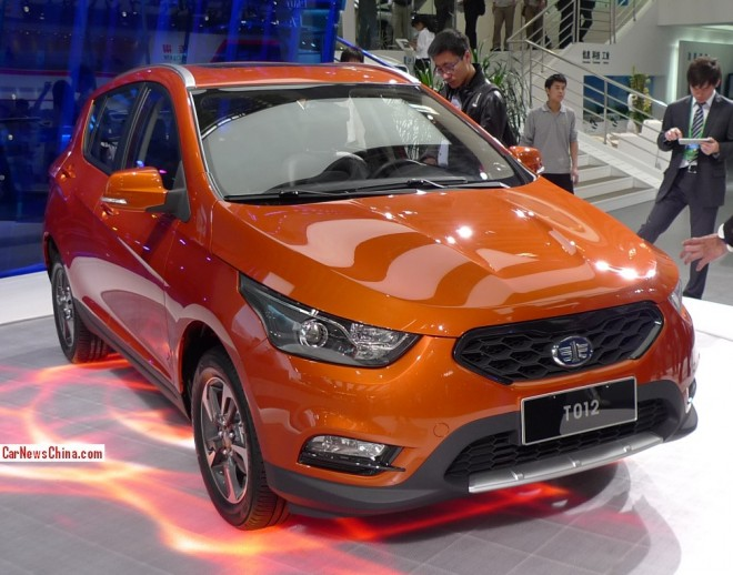 FAW-Xiali T012 debuts on the Beijing Auto Show