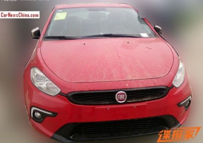 Spy Shots: Fiat Ottimo Sport is Ready for the Beijing Auto Show