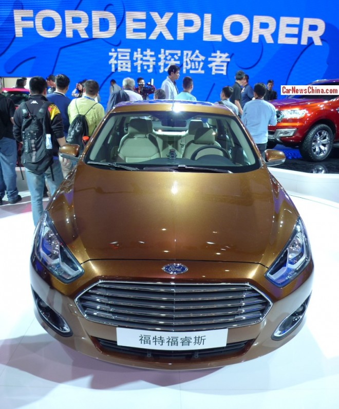 New Ford Escort debuts on the Beijing Auto Show