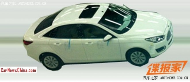 Spy Shots: Ford Escort is Naked in China