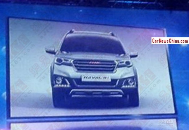 Spy Shots: Haval H1 will debut on the Beijing Auto Show