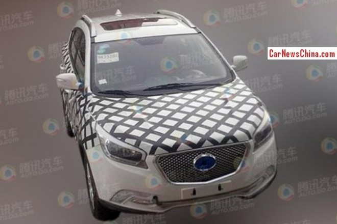 Spy Shots: Hawtai A25 SUV is almost ready for the 2014 Beijing Auto Show
