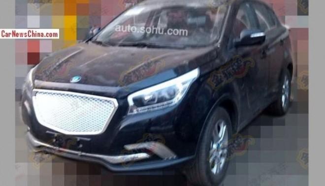 Spy Shots: Hawtai A25 SUV seen Naked in China