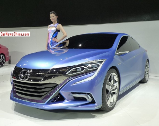 Honda Concept B debuts on the Beijing Auto Show