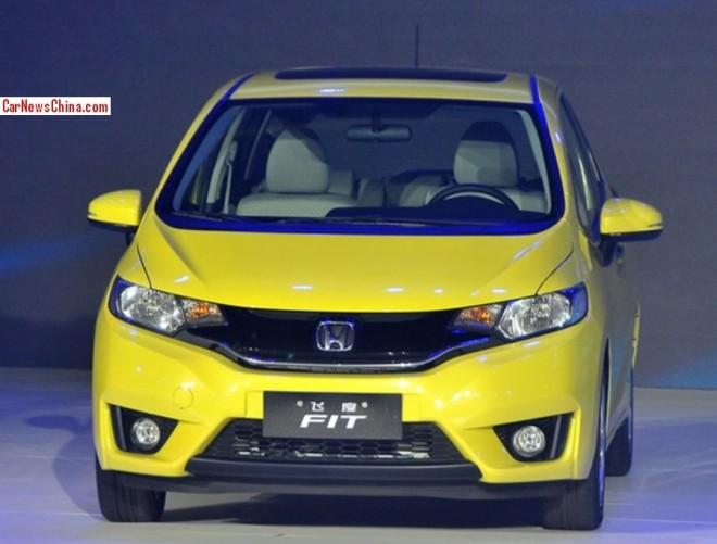 2015 Honda Fit debuts in Beijing