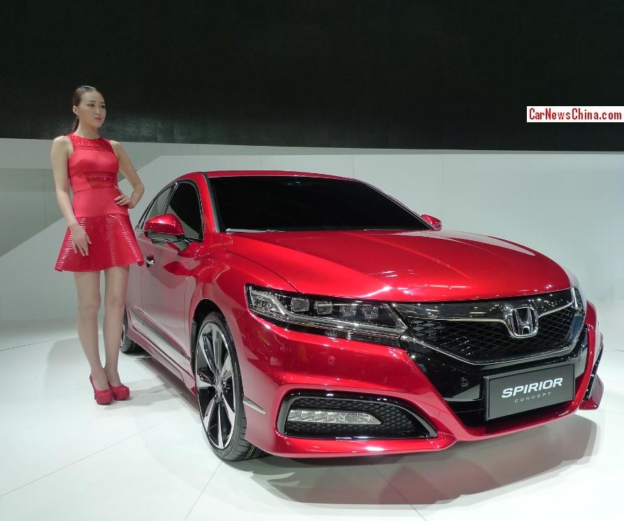 Honda Spirior Concept Debuts On The Beijing Auto Show