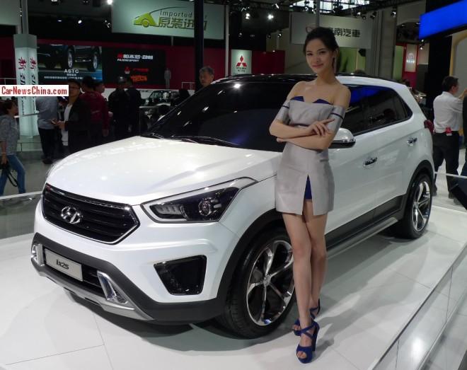 Hyundai ix25 Concept debuts at the Beijing Auto Show
