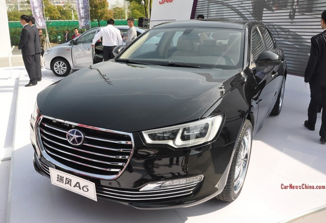 This is the new JAC Refine A6 sedan for the 2014 Beijing Auto Show