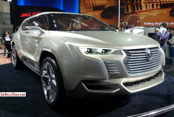 JAC SC-9 Concept debuts on the Beijing Auto Show