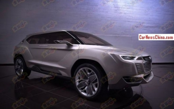 JAC EC-9 concept will debut on the 2014 Beijing Auto Show