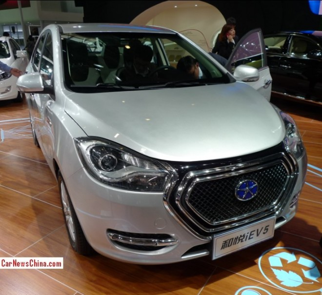 JAC iEV5 debuts on the Beijing Auto Show
