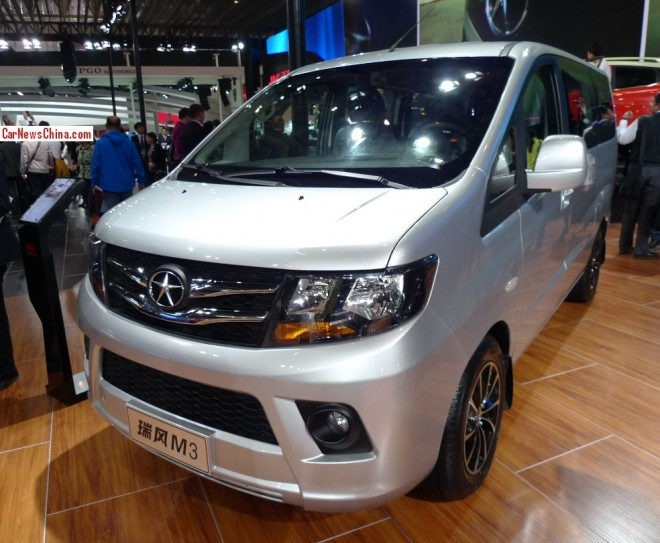 JAC Refine M3 debuts on the Beijing Auto Show