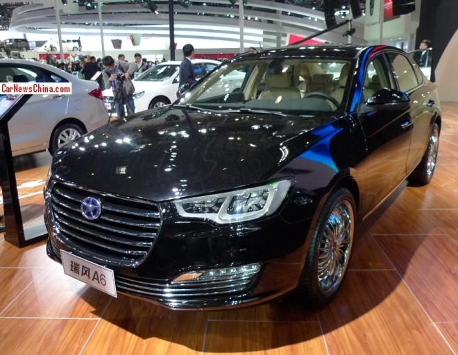 JAC Refine A6 Concept debuts on the 2014 Beijing Auto Show