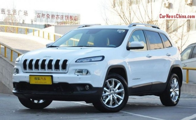Jeep to build three models in China