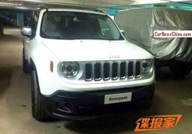 Jeep Renegade arrives in China for the Beijing Auto show