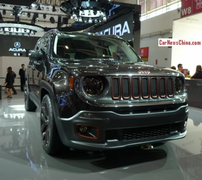 Jeep Renegade Green Hornet Concept debuts on the Beijing Auto Show