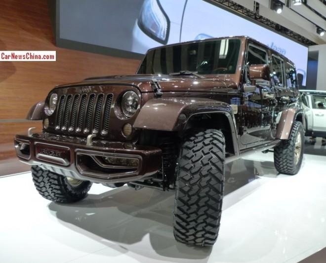 Jeep Wrangler Sundancer Concept debuts on the Beijing Auto Show
